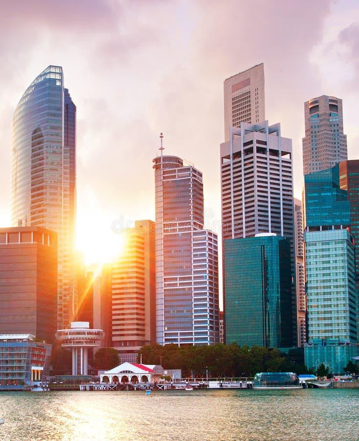 Singapur W centrum sedno obraz stock