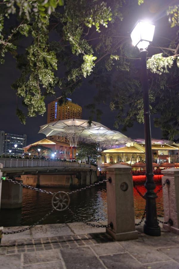 Singapur Zwyczajna ścieżka zdjęcia stock