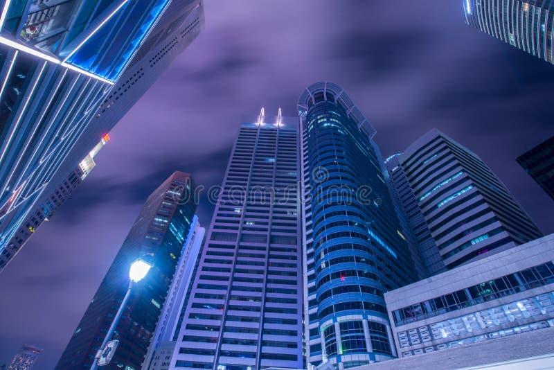 Singapura - 4 de agosto de 2014 fotografia de stock