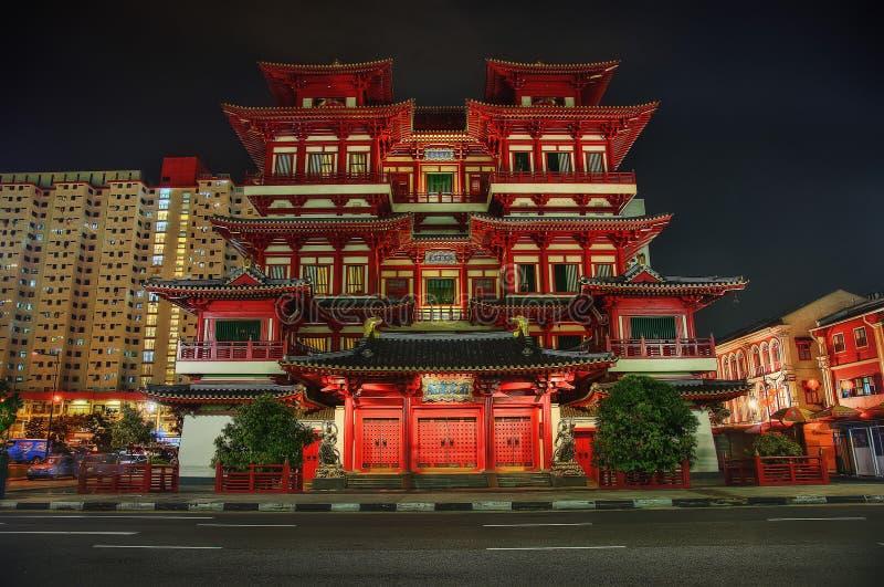 Singapura pouco templo da Índia fotos de stock royalty free