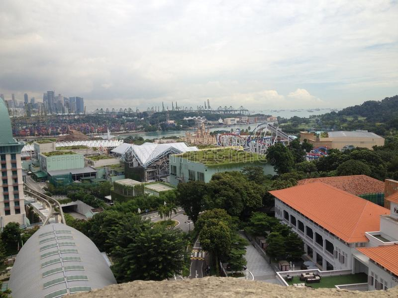 Singapura Sentosa foto de stock