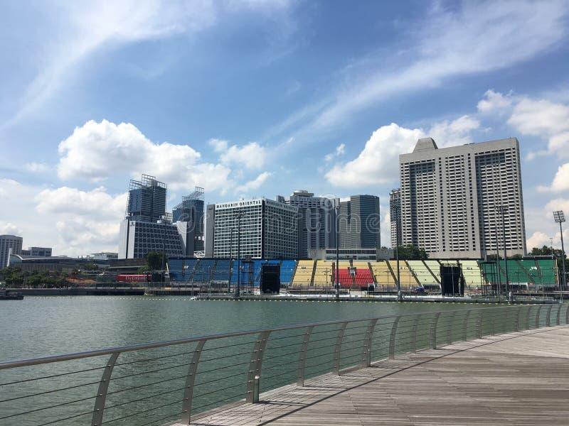 Singapurense Singapur LV marinabay imágenes de archivo libres de regalías