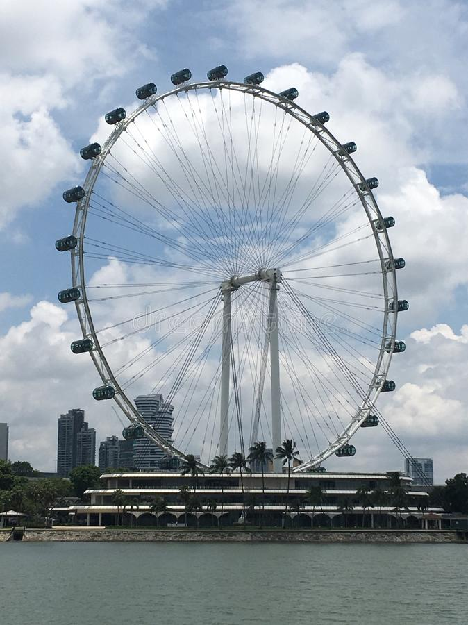 Singapurische Tretmühle lizenzfreies stockbild