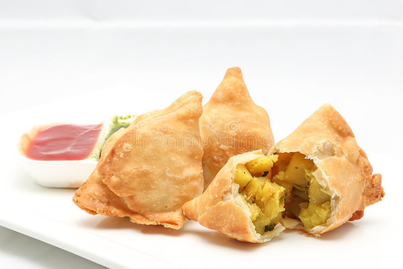 Singara Curry Puff royalty free stock images