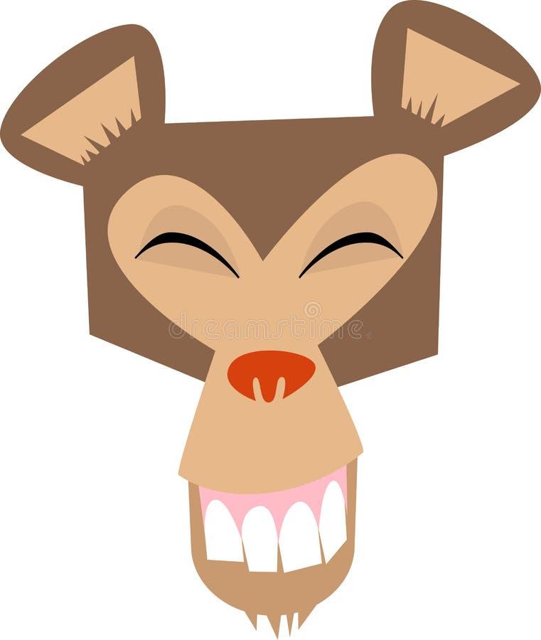 Singe-visage, heureux ! illustration libre de droits