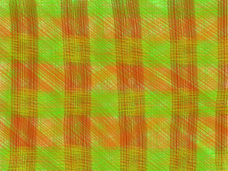 Singelband Groene Sinaasappel stock fotografie