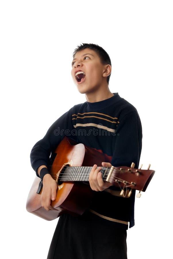 Singen Sie ein Lied stockfotos