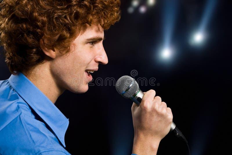 Download Singer stock image. Image of song, musician, artist, karaoke - 25002535