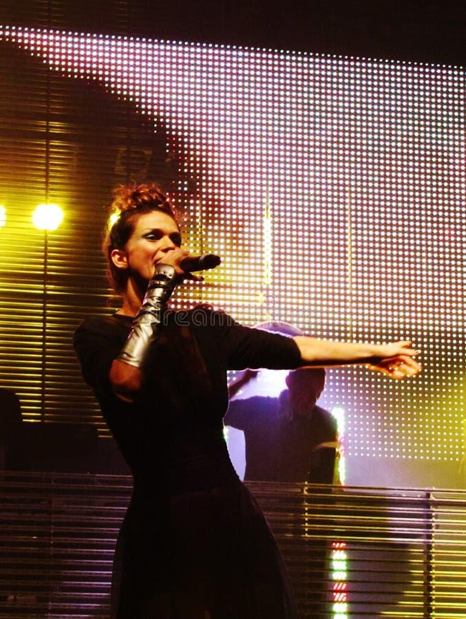 singer royalty-vrije stock afbeeldingen