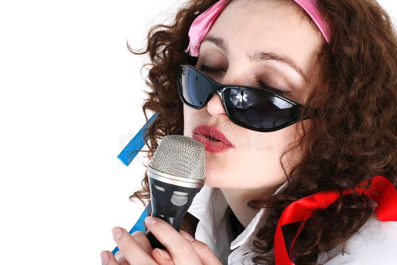 Download Singer stock photo. Image of person, cool, hair, beauty - 8215440