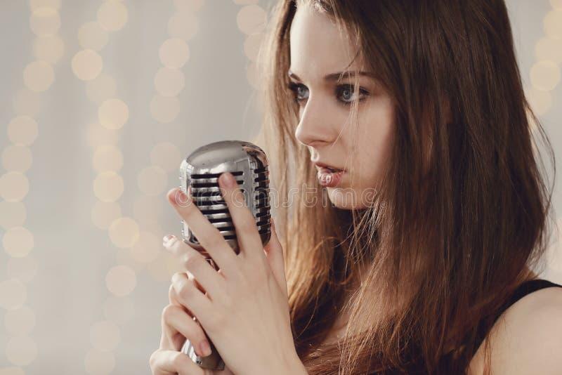 singer royalty-vrije stock foto