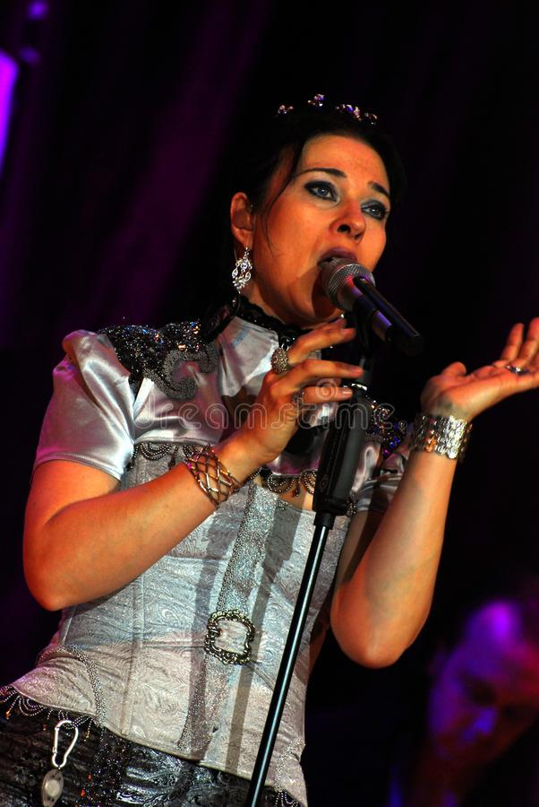 Download Singer Anne Nurmi, The Group Lacrimosa Editorial Stock Image - Image: 14850059