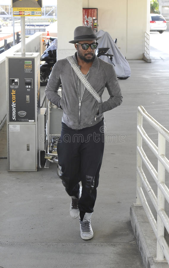 Download Singer Black Eyed Peas WILL.I.AM At LAX Editorial Stock Image - Image: 16475744