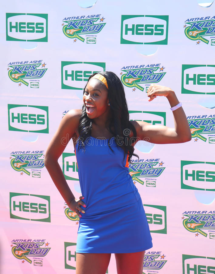 Download Singer Coco Jones Attends Arthur Ashe Kids Day 2013 At Billie Jean King National Tennis Center Editorial Photography - Image: 35831807