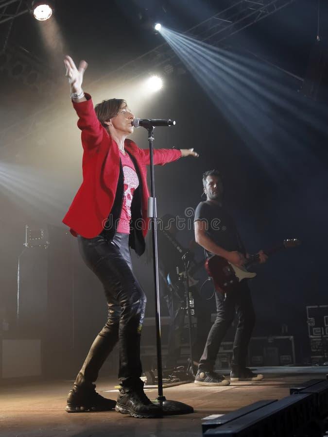 Singer Gianna Nannini royalty free stock photography