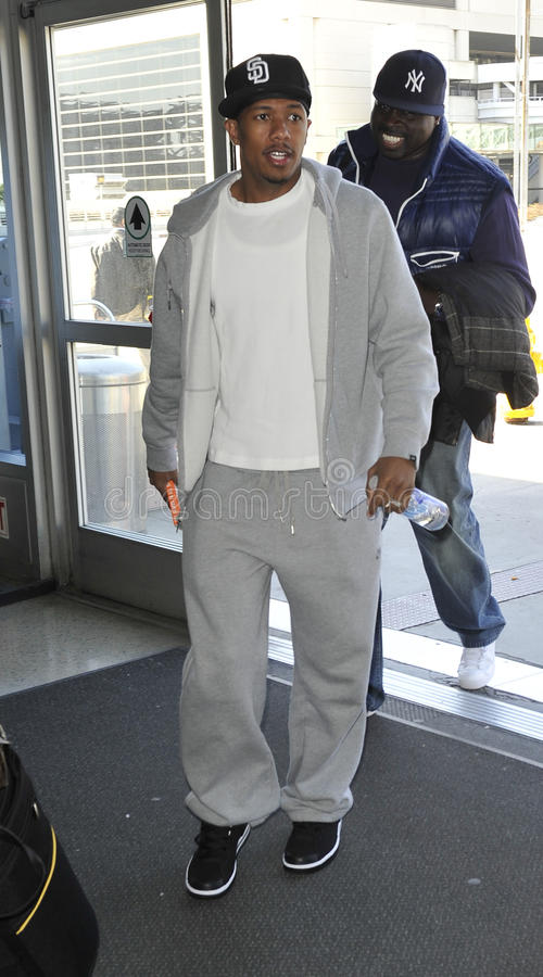 Download Singer NIck Cannon At LAX Airport Editorial Image - Image: 20891815