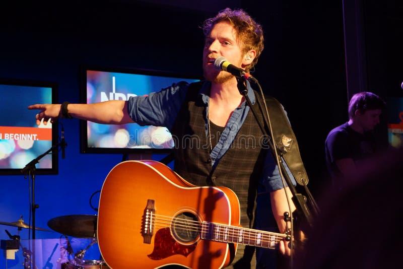 Singer-Songwriter Johannes Oerding Editorial Image