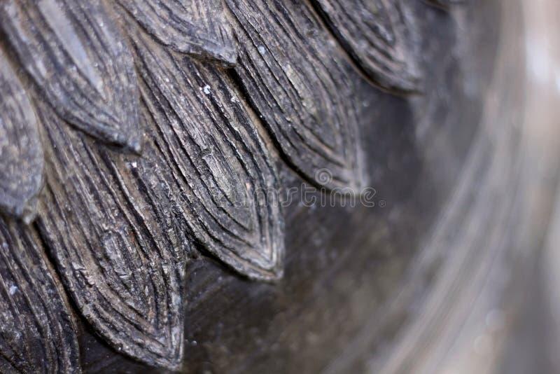 Singha kamienia statuy tekstura obrazy stock