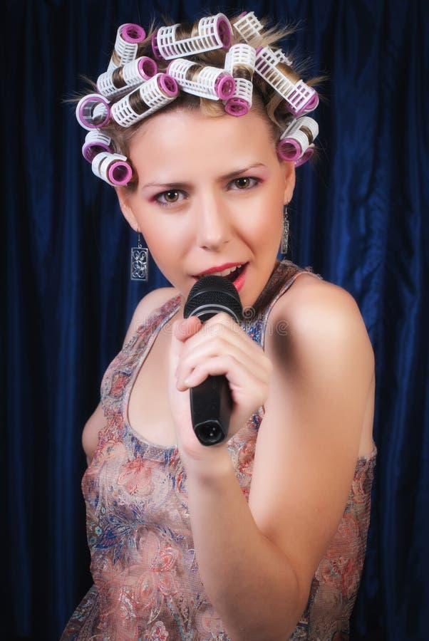 Download Singing stock photo. Image of elegance, music, fashion - 20935000