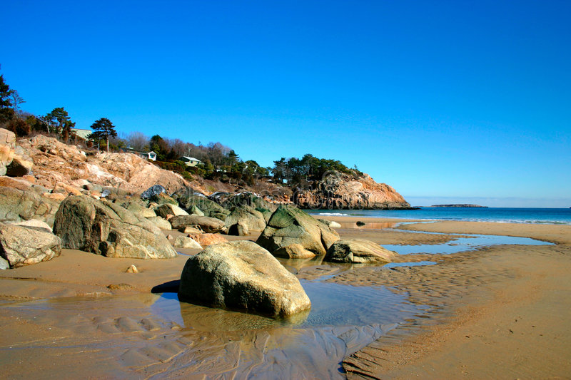 Singing Beach royalty free stock photography