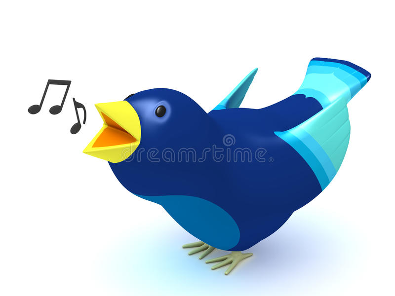 Download Singing Bird Stock Photo - Image: 15140280