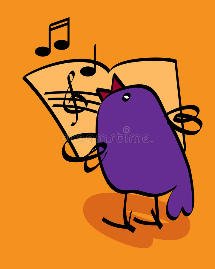 Download Singing bird stock vector. Illustration of culture, happy - 21674659