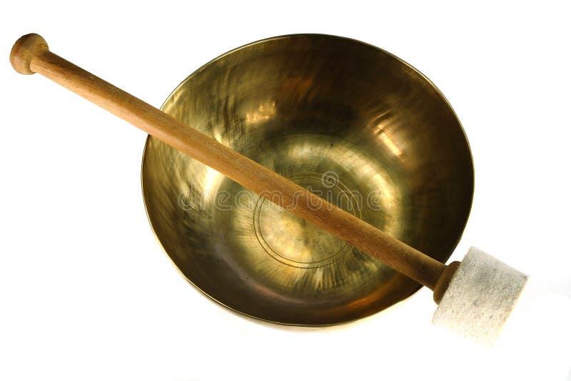 Download Singing bowl stock image. Image of harmonic, golden, pray - 10292875