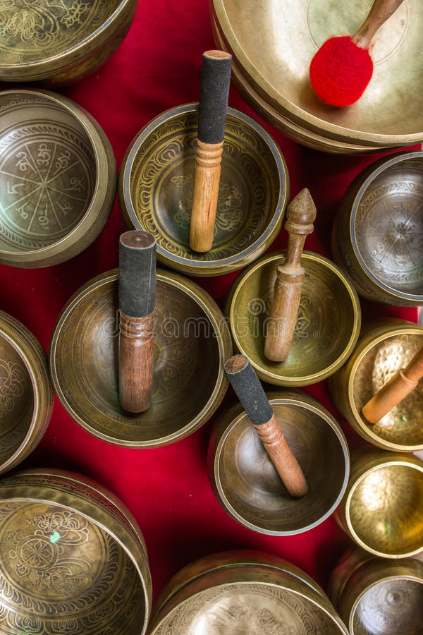 Singing Bowls (Cup of life) royalty free stock image