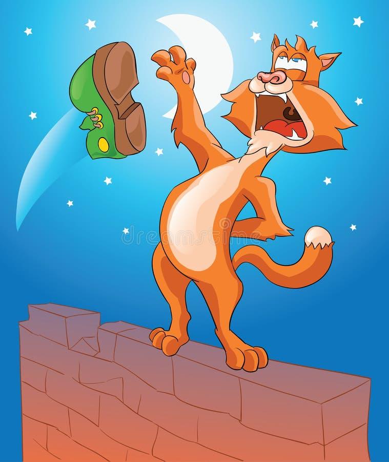 Free Singing Cat Stock Photography - 25157322