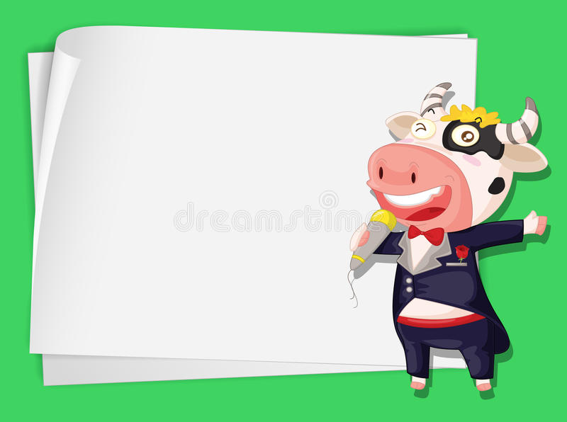 Download Singing Cow Royalty Free Stock Photo - Image: 24833385