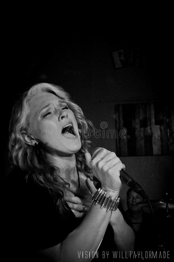 Singing From the Heart royalty free stock photos