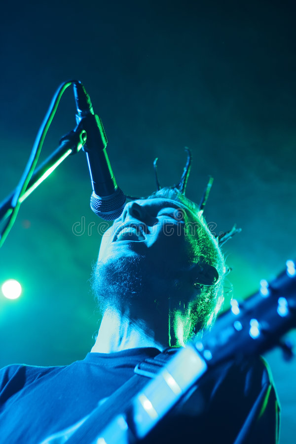 Free Singing Man With Guitar Royalty Free Stock Images - 4980199