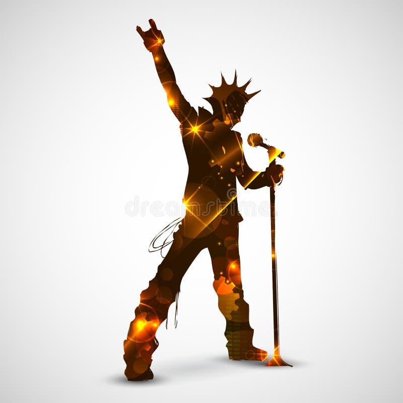 Free Singing Rock Star Stock Images - 31667104