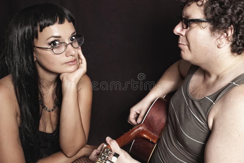 Download Singing serenades stock image. Image of couple, passion - 21375221