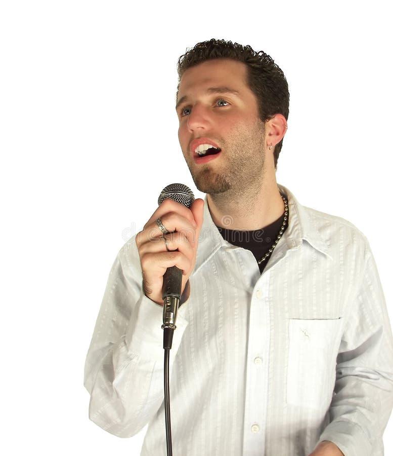 Download Singing softly stock image. Image of lifestyle, attitude - 1171031