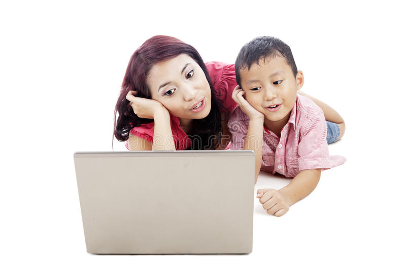 Download Singing together stock image. Image of mother, little - 25508999