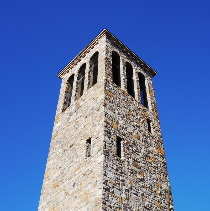 Singing tower in Carillon Park. Luray, Virginia royalty free stock photos