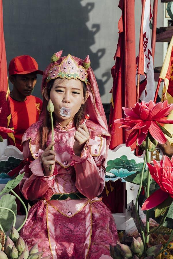 Singkawang Tatung festiwal fotografia royalty free