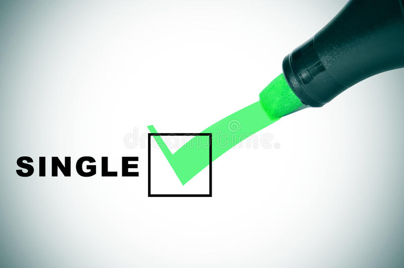 Download Single stock photo. Image of approved, marker, person - 28595352