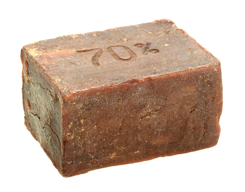 Single bar of obsolete soap stock images
