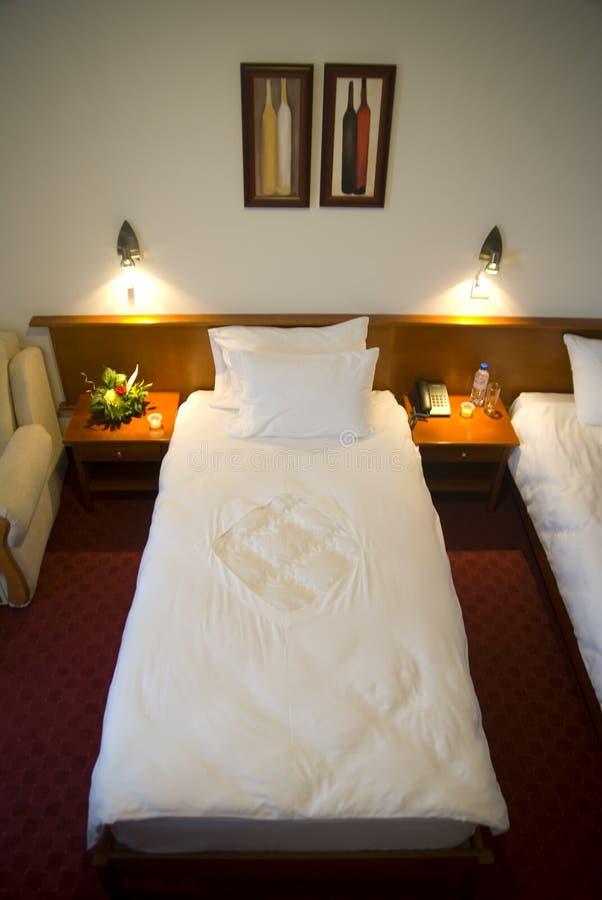 Single bed royalty free stock photos