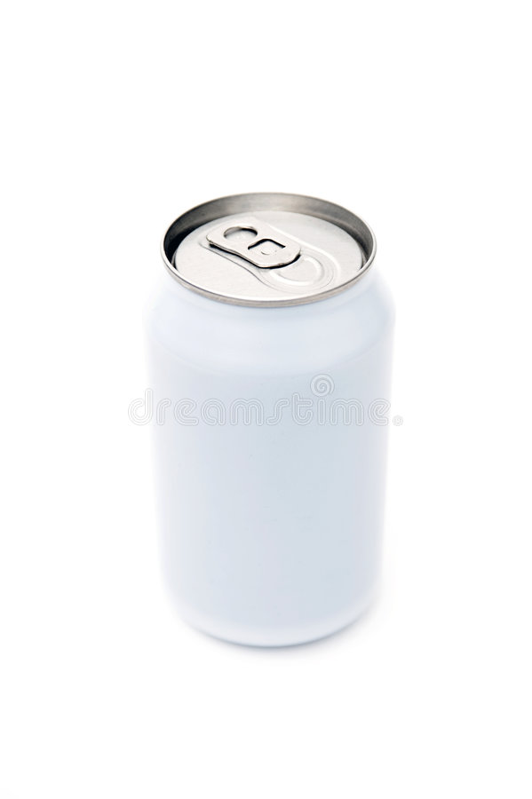 Single beverage can royalty free stock photography