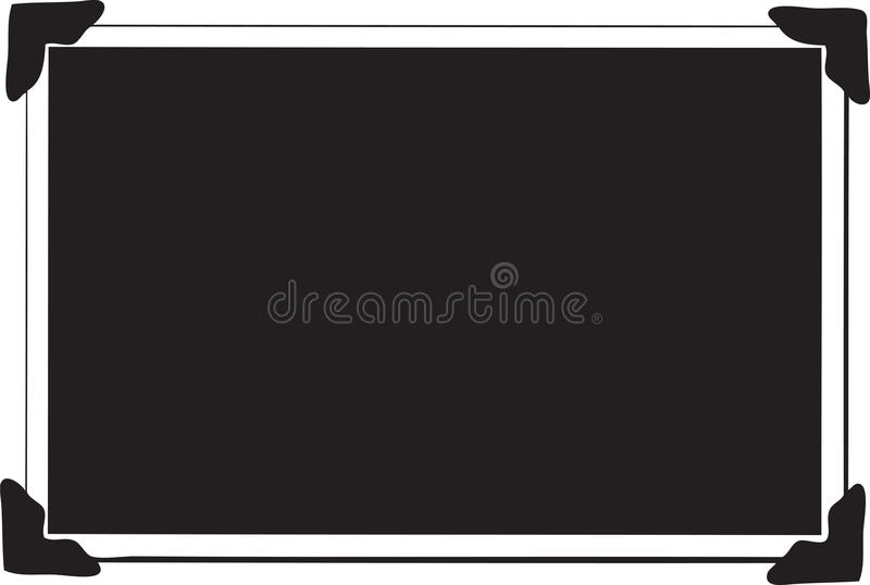Single Blank Picture Royalty Free Stock Images