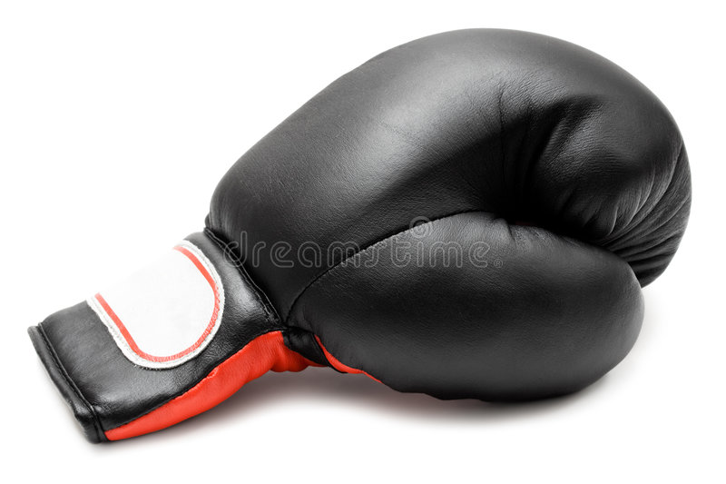 Single Boxing Glove royalty free stock photography