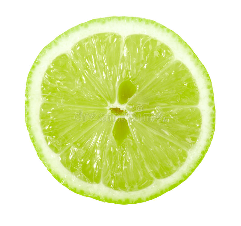 Download Single Cross Section Of Lime Royalty Free Stock Image - Image: 14675466