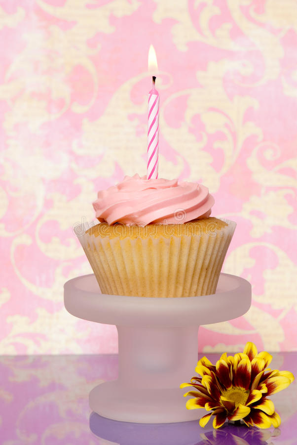 Download Single Cupcake stock image. Image of homemade, icing - 10303689