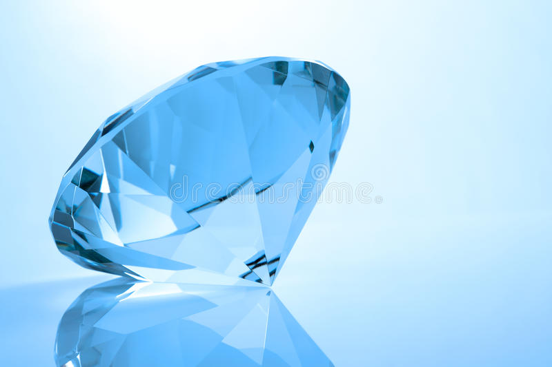 Download Single diamond stock image. Image of shiny, colour, precious - 15212295