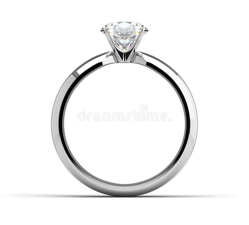 Single Diamond Ring stock photos