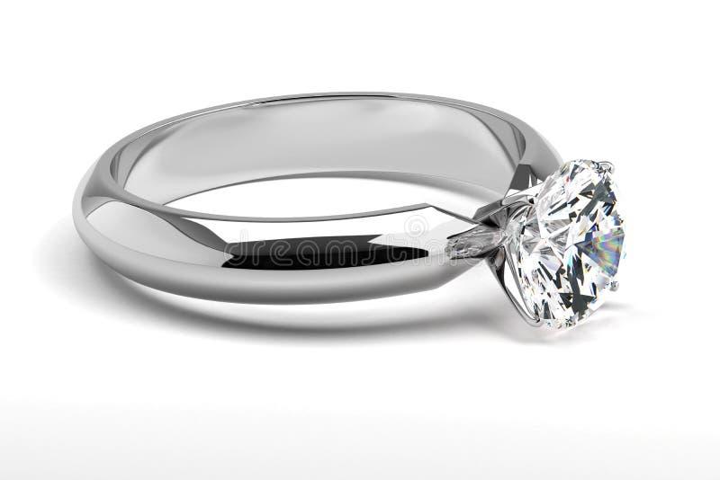 Single Diamond Ring stock image