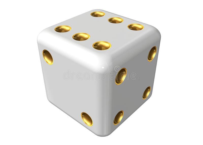Single dice stock photos